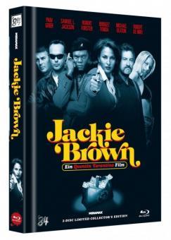 Jackie Brown (Limited Mediabook, Blu-ray+DVD, Cover C) (1997) [Blu-ray]