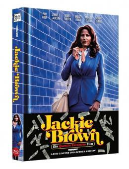 Jackie Brown (Limited Wattiertes Mediabook, Blu-ray+DVD) (1997) [Blu-ray]