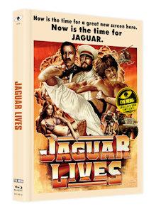 Jaguar lebt (Limited Mediabook, Blu-ray+DVD, Cover A) (1979) [FSK 18] [Blu-ray]