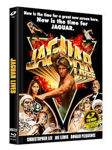Jaguar lebt (Limited Mediabook, Blu-ray+DVD, Cover B) (1979) [FSK 18] [Blu-ray]