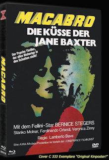 Macabro - Die Küsse der Jane Baxter (Limited Mediabook, Blu-ray+DVD, Cover C) (1980) [FSK 18] [Blu-ray]