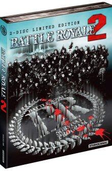Battle Royale 2 (Limited Mediabook, Blu-ray+DVD, Cover B, inkl. längerem 152min Revenge Cut) (2003) [FSK 18] [Blu-ray]