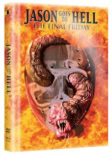 Jason Goes to Hell - Die Endabrechnung (Limited Wattiertes Mediabook, Blu-ray+DVD) (1993) [FSK 18] [Blu-ray]