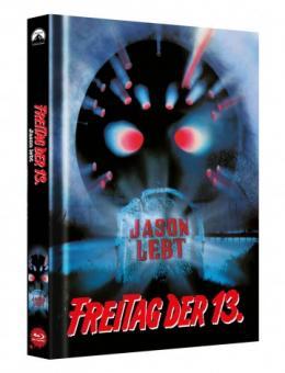 Freitag der 13. Teil 6 (Limited Mediabook, Cover B) (1986) [FSK 18] [Blu-ray]