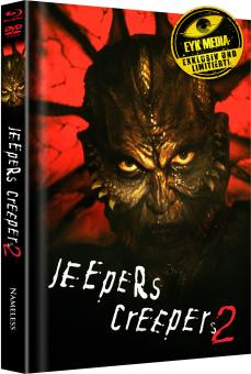 Jeepers Creepers 2 (Limited Mediabook, Blu-ray+DVD, Cover C) (2003) [Blu-ray]
