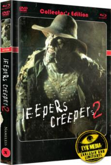 Jeepers Creepers 2 (Limited Mediabook, Blu-ray+DVD, Cover A) (2003) [Blu-ray]