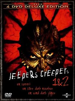 Jeepers Creepers 1 & 2 (4 DVDs Deluxe Edition) [Gebraucht - Zustand (Sehr Gut)]
