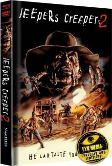 Jeepers Creepers 2 (Limited Mediabook, Blu-ray+DVD, Cover B) (2003) [Blu-ray]