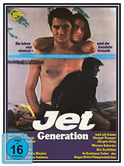 Jet Generation - Edition Deutsche Vita # 13 (Limited Edition, Blu-ray+DVD, Cover B) (1968) [Blu-ray]
