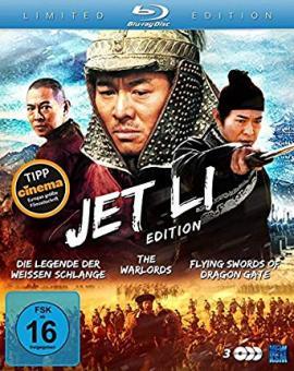 Jet Li Edition (Die Legende der Weißen Schlange / The Warlords / Flying Swords of Dragon Gate) (3 Discs) [Blu-ray]