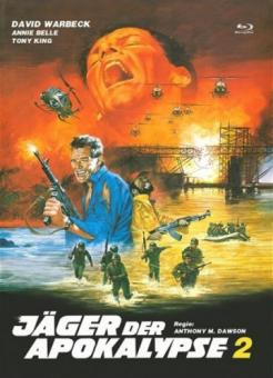 Jäger der Apokalypse 2 (Limited Mediabook, Blu-ray+DVD, Cover A) (1981) [FSK 18] [Blu-ray]