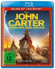 John Carter - Zwischen 2 Welten (inkl. 2D Blu-ray) (2012) [3D Blu-ray]