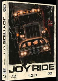 Joy Ride 1-3 (3 Discs Limited Mediabook, Cover A) [FSK 18] [Blu-ray]