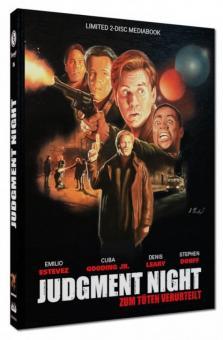 Judgment Night - Zum Töten verurteilt (Limited Mediabook, Blu-ray+DVD, Cover A) (1993) [Blu-ray]
