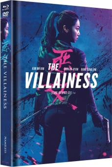 The Villainess (Limited Mediabook, Blu-ray+DVD, Cover B) (2017) [FSK 18] [Blu-ray]