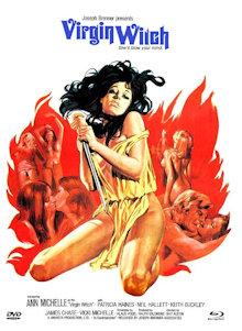Virgin Witch (Limited Mediabook, Blu-ray+DVD, Cover B) (1972) [FSK 18] [Blu-ray]
