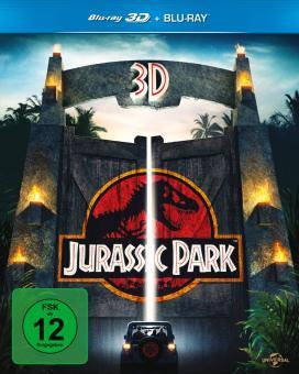 Jurassic Park (3D Blu-ray+Blu-ray) [3D Blu-ray]