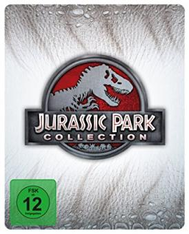 Jurassic Park Collection (Limited Steelbook Edition) (4 Discs) [Blu-ray]