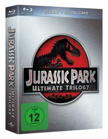 Jurassic Park Ultimate Trilogy (limitierte Edition im Schuber) (3 Discs) [Blu-ray]
