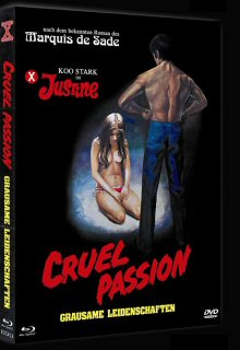 Justine - Grausame Leidenschaften (Cruel Passion) (Limited Mediabook, Blu-ray+DVD, Cover B) (1977) [FSK 18] [Blu-ray]