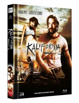 Kalifornia (Limited Mediabook, Blu-ray+DVD, Cover B) (1993) [FSK 18] [Blu-ray]