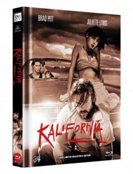 Kalifornia (Limited Mediabook, Blu-ray+DVD, Cover C) (1993) [FSK 18] [Blu-ray]