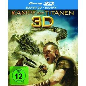 Kampf der Titanen (2-Disc: 3D + 2D Version) (2010) [Blu-ray]