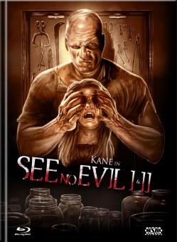 See No Evil 1&2 (Limited Mediabook, Double Feature, 2 Blu-ray's, Cover A) [FSK 18] [Blu-ray]