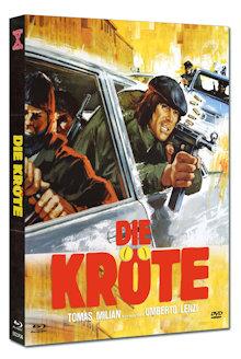 Die Kröte (Limited Mediabook, Blu-ray+DVD, Cover B) (1978) [FSK 18] [Blu-ray]