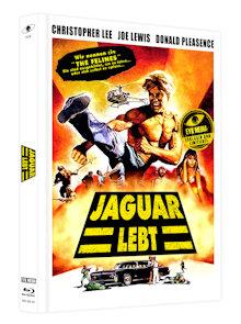 Jaguar lebt (Limited Mediabook, Blu-ray+DVD, Cover C) (1979) [FSK 18] [Blu-ray]