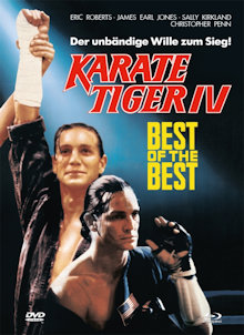 Karate Tiger 4 - Best of the Best (Limited Mediabook, Blu-ray+DVD, Cover A) (1989) [Blu-ray]