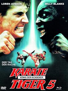 Karate Tiger 5 - König der Kickboxer (Limited Mediabook, Blu-ray+DVD, Cover A) (1990) [FSK 18] [Blu-ray]