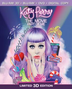 Katy Perry The Movie: Part of Me (Three-Disc Combo: Blu-ray 3D / Blu-ray / DVD) (2012) [3D Blu-ray]