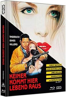 Keiner kommt hier lebend raus - Diary of a Hitman (Limited Mediabook, Blu-ray+DVD, Cover A) (1991) [Blu-ray]