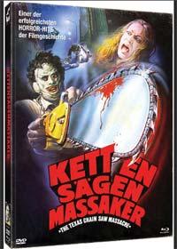 Texas Chainsaw Massacre (Limited Uncut Mediabook, 2 Blu-ray's+DVD) (1974) [FSK 18] [Blu-ray]