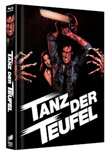 Tanz der Teufel (3 Disc Limited Mediabook, Cover B) (1982) [FSK 18] [Blu-ray]