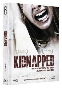 Kidnapped (Uncut, Limited Mediabook, Blu-ray+DVD, Cover A) (2010) [FSK 18] [Blu-ray]