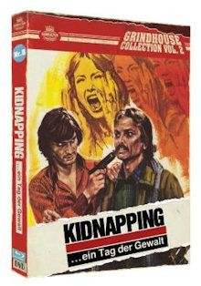 Kidnapping ein Tag der Gewalt - Grindhouse Collection Vol. 2 (Limited Edition, Blu-ray+DVD, Cover A) (1977) [FSK 18] [Blu-ray]