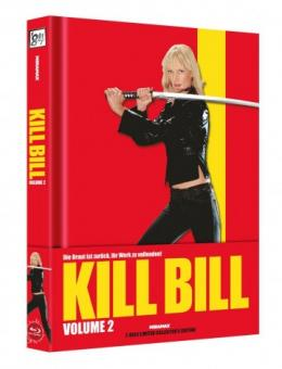 Kill Bill: Volume 2 (Limited Wattiertes Mediabook, Blu-ray+DVD) (2004) [Blu-ray]