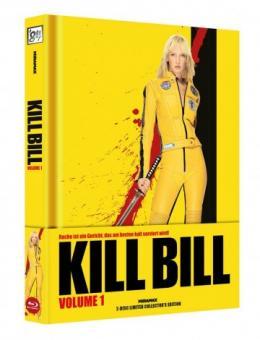 Kill Bill: Volume 1 (Limited Wattiertes Mediabook, Blu-ray+DVD) (2003) [FSK 18] [Blu-ray]