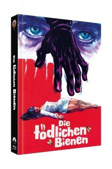 Die Tödlichen Bienen (Limited Mediabook, Blu-ray+DVD, Cover C) (1967) [Blu-ray]