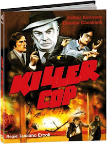 Killer Cop (Limited Mediabook, Cover D) (1975) [FSK 18] [Blu-ray]