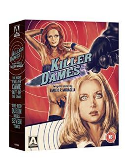 Killer Dames: Two Gothic Chillers by Emilio P. Miraglia (4 Discs, Blu-ray+DVD) [FSK 18] [UK Import] [Blu-ray]