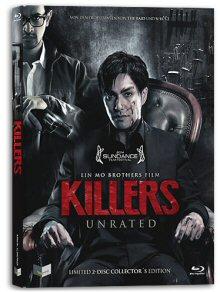 Killers - In jedem von uns steckt ein Killer (Limited Mediabook Edition, Blu-ray+DVD, Cover A) [FSK 18] [Blu-ray]