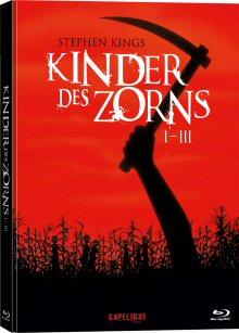 Kinder des Zorns 1-3 (3 Discs, Mediabook, Uncut) [FSK 18] [Blu-ray]