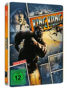 King Kong - Extended Edition (Steelbook) (2005) [Blu-ray]