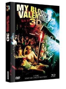My Bloody Valentine (Limited Uncut Mediabook, Blu-ray+DVD, Cover B) (2009) [FSK 18] [3D Blu-ray]