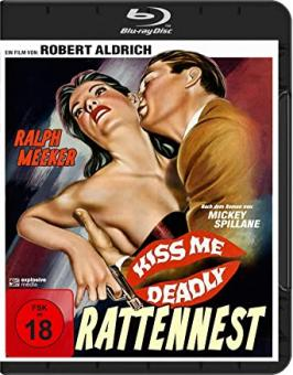 Das Rattennest (Kiss Me Deadly) (1955) [FSK 18] [Blu-ray]