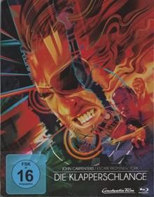Die Klapperschlange (Limited Steelbook) (1981) [Blu-ray]