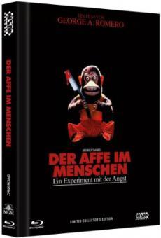 Der Affe im Menschen (Limited Mediabook, Blu-ray+DVD, Cover C) (1988) [Blu-ray]